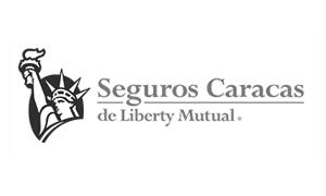 customer logos: Seguros Caracas